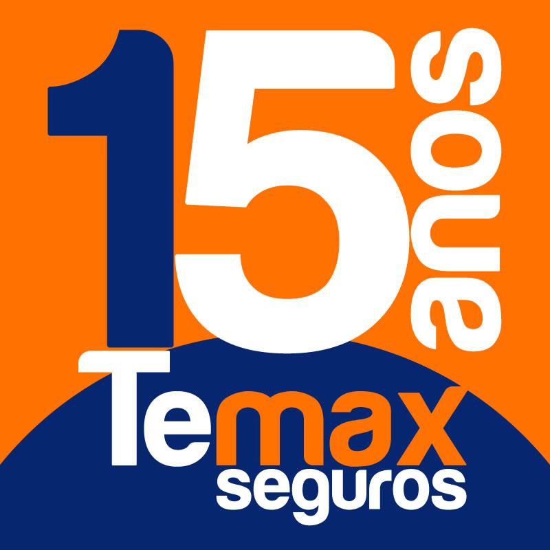 Selo 15 anos Temax Seguros